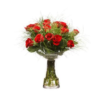 זר פרחים 017