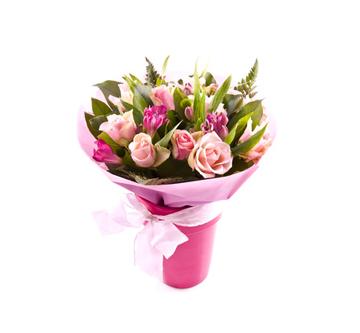 אזורי משלוחי פרחים -זר ורדים 022