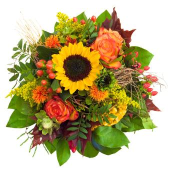 זר פרחים 023