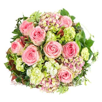 זר פרחים 25