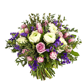 פרחים ליום הולדת -זר פרחים 021