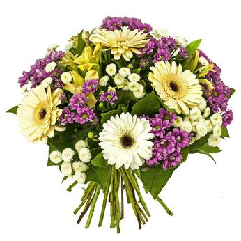 זר פרחים 019