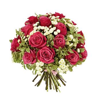 זר פרחים 018