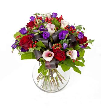 זר פרחים 002
