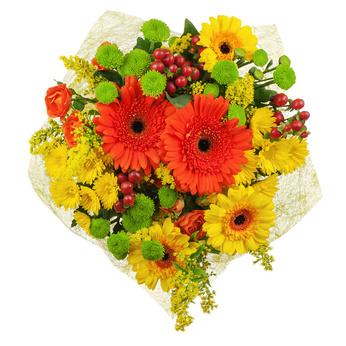 זר פרחים 10
