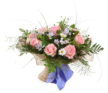 זר פרחים 08