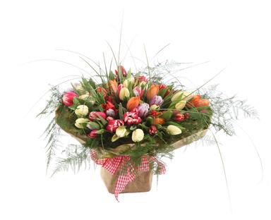 זר פרחים 007