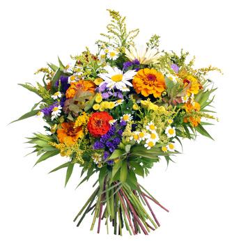 זר פרחים 006